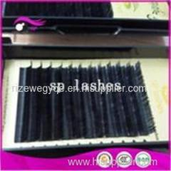 Silk C Curl Individual Black False Eyelash Extensions Tray Eyelash 0.10mmx10mm