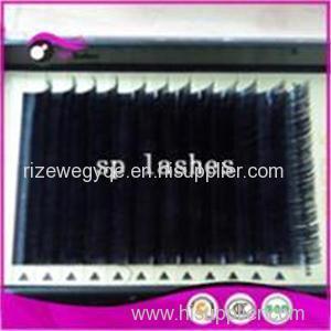Permanent Individual Eyelash Extension Mink Silk 3D 6D 9D Volume Dramatic Lash Extensions