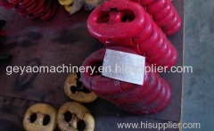 High-strength carbon steel quick release link for lifting area