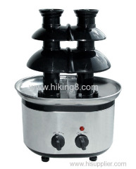 China 3 tiersled chocolate fountain base surround desk