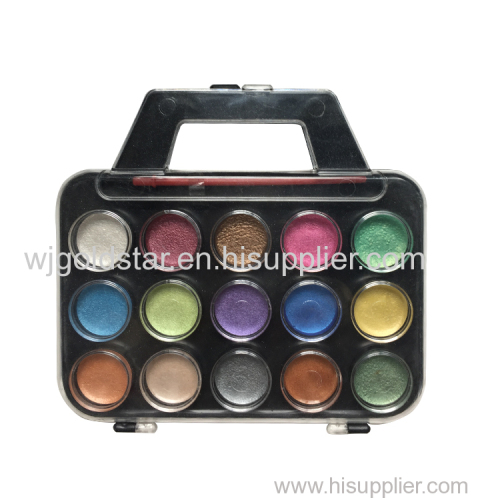 Portable shape Pearl Watercolor set