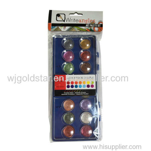 OPP bag Cardhead Packing of Pearl Watercolor 16 colors