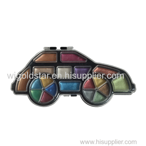 Car Shape Pearl Watercolor Set