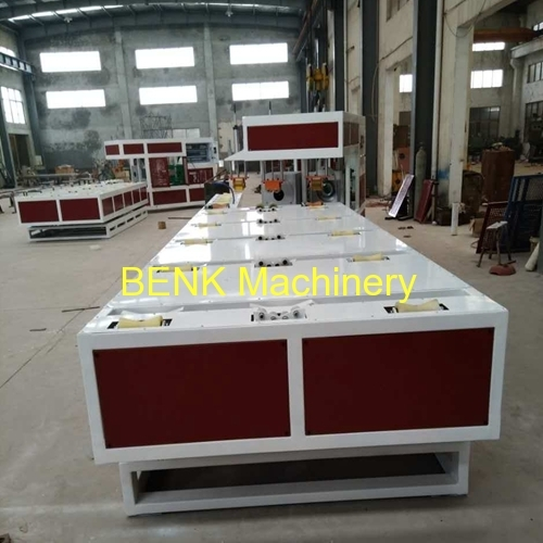 PVC Pipe Full Automatic Belling Machine with double heating oven