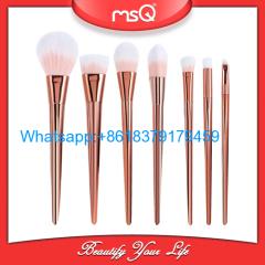 MSQ 7pcs Synthetic Hair Make Up Brushes Tools Cosmetic Foundation Brush Kits