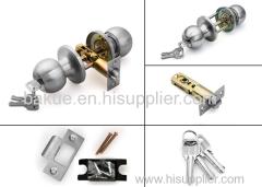 Stainless Steel Hardware Safe Door Handle Knob Ball Lock