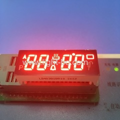 red oven timer ; custom seven segment ; custom led display