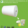 Pe coated cup stock paper large/big roll