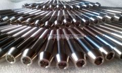 Ti6AL4V Greade 5 DIN 912 titanium Tapered socket cap screws in stock manufacturer