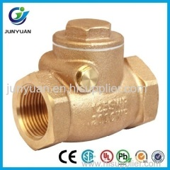 125 SWP Bronze Swing Check Valve