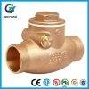 B62-C83600 Bronze Welded Swing Check Valve