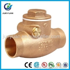 Sweat (CxC) Bronze Swing Check Valve