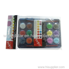 18 Color watercolor Artist set