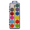 Water Colour Paints And Brush Set 12 Colors Kids Art Craft Artist Box Case