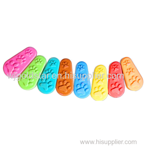 Foot Shape Watercolor Paint Cake For School Children