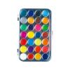 28 colors Semi Dry Watercolor Paint Palette