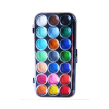 21 Colors Semi Dry Watercolor Set with Brush