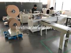 Double o binding machine with hole punching function