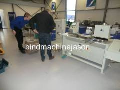 Industrial wire bind machine for print factory do wire o notebook