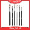 MSQ Brand 6pcs Pro Eyeshadow Makeup Brushes Set Cosemtic Black Wood Handle Make-up Pen Pincel Maquiagem