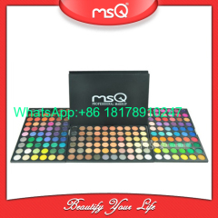 MSQ brand 180 colors make up palette. Mineral powder eye makeup cosmetic palette