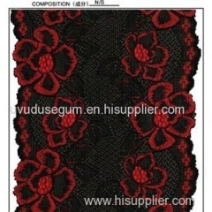 Nylon Spandex Jacquard 14.5 Cm Galloon Lace Ribbon for Lady′s Intimate Wear (J0001)
