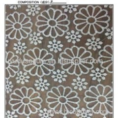 Hot Selling Chantilly Water Soluble Lace Fabric(S1559)