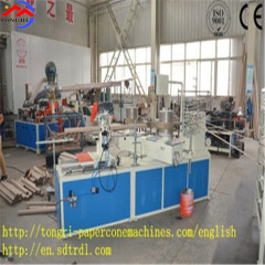 Spiral paper tube production line