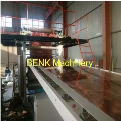 PVC marble sheet production machine with factory price