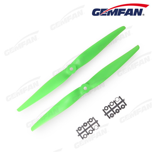 1050 normal 2 blades black green ABS Propeller For Multirotor quadcopter ccw cw