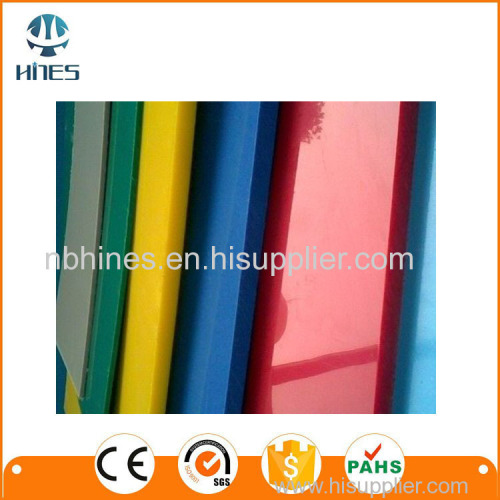white color of hockey sheet HDPE material