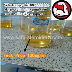 Customized Injectable Steroid Gear Test Prop 100 Testosterone Propionate 100 mg/ml