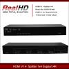 4K 4 port UHD(3840x2160) hdmi splitter 1x4 with hdcp key