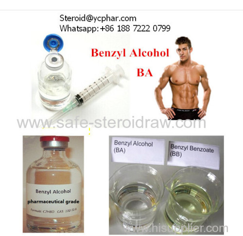 Steroid Oil Injection Carrier Solvent Ba Benzyl Alcohol