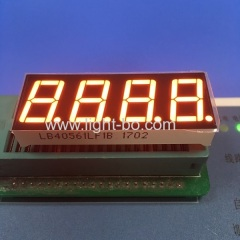 "Super bright orange 4 digit 7 segment led display 0.56"" common cathode for digital indicator"