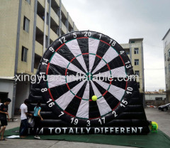 7m 23ft Mash Up Foot Dart Inflatable Soccer Dart Boards For Sale