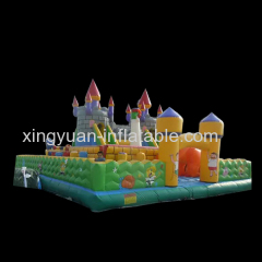 Outdoor SpongeBob Inflatable Playground
