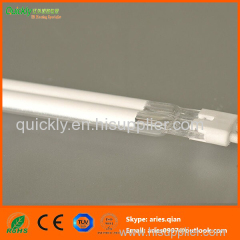 Shortwave white coating infrared lamp