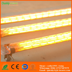 quartz glass short wave infrared emitters