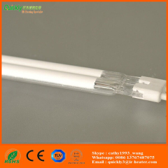 quartz glass tungsten halogen IR heater