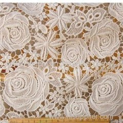 Wholesale Luxury Guipure Chemical Lace Fabric(S8016)