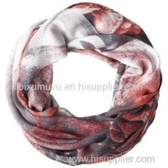 Personalized Digital Printing Silk Modal Infinity Scarf