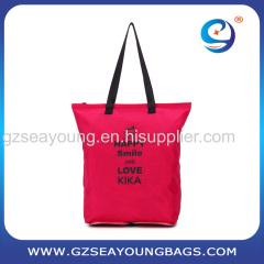 2017 Latest Design Fashionable Lady's Shopping Bag