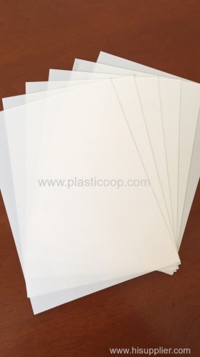 white hips sheet print material Advertising material