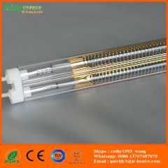 medium wave infrared lamps for glass screen printing