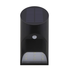 9LED 2200mAh Outdoor Motion Sensor Solar Wall Lights