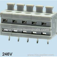 screwless terminal block Spring Terminal Block Manufacturers