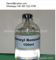 For steroid solution Organic Solvents BB Benzyl Benzoate
