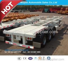 3 Axle Container Skeletal Semi Trailer