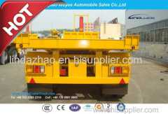 20FT 3 Axle Container Tipping Dump Trailer with Fuwa Axle and Hyva Hydraulic System